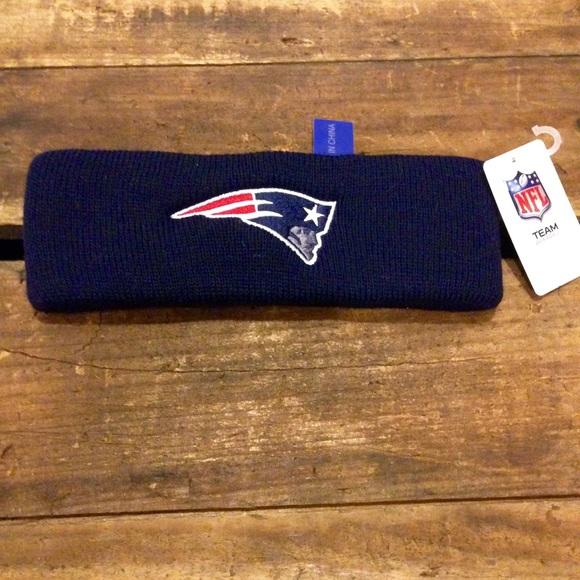 13969854d2051 NWT New England Patriots headband